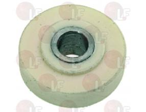 TEFLON CARRIAGE WHEEL o 22-6x10 mm