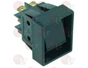 BLACK BIPOLAR SWITCH 16A 250V