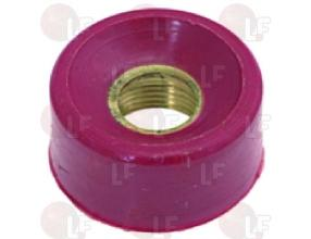 RED RING NUT FOR MICROSWITCH o 20 mm