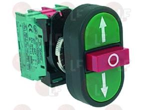 PUSH-BUTTON PANEL F/ INVERSION GREEN-RED