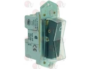 BLACK BIPOLAR SWITCH 15A 250V