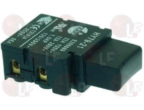 BLACK BIPOLAR PUSH-BUTTON 12A 250V