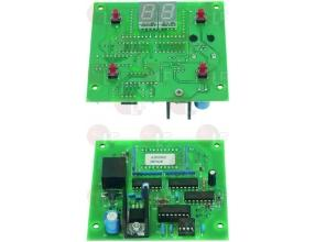 ELECTRON.CONTROL CIRCUIT BOARD 87x87 mm