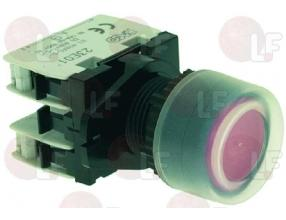RED STOP PUSH-BUTTON 10A 400V