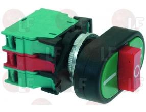 2 SPEED PUSH-BUTTON PANEL GREEN-RED 500V