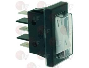 WHITE ONE-POLE SWITCH 16A 250V
