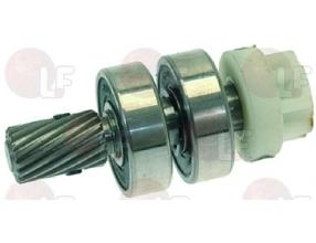 SHAFT WITH COUPLING 8 TEETH