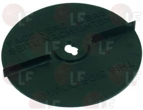 RUBBER VEGETABLE CHOPPER EJECTOR DISC