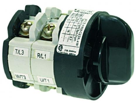 SELECTOR SWITCH 0-1 POSITIONS 32A 690V