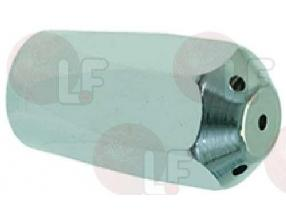 CHROME-PLATED STEAM NOZZLE