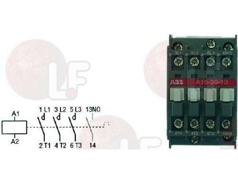 CONTACTOR ABB A16-30-10