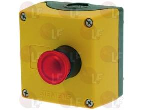 EMERGENCY PUSH-BUTTON WITH LIGHT