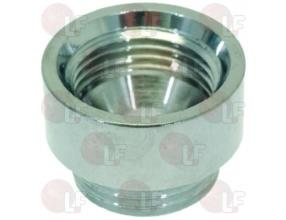 CHROME-PLATED SPOUT EXTENSION o 3/8""