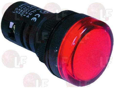 MULTI-LED RED INDICATOR LAMP 24V