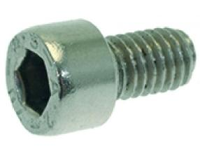 STAINLESS STEEL SCREW M6x10 UNI 9327