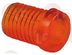 RED GEM FOR LAMPHOLDER o 7mm
