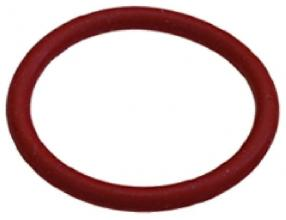 O-RING 04125 SILICONE RED