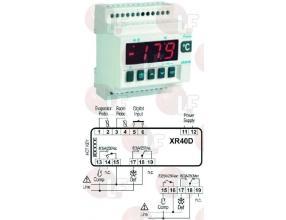 TERMOSTAT XR40D 230V PTC/NTC