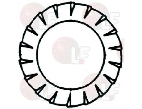 TOOTHED WASHER EXT.o 6x11x0,7 mm -200PCS