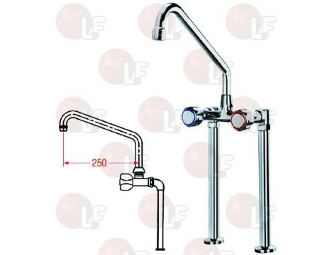 TWO-HOLE TAP WITH SPOUT 300 mm