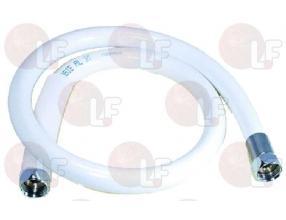 """WHITE SHOWER HOSE o 1/2""""FF 950 mm"""