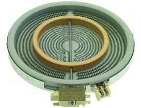 PYROCERAMIC HOT PLATE o 210mm 2200W 230V