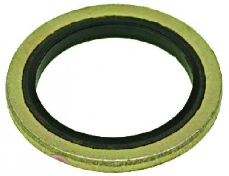 WASHER WITH GASKET o 24x17x2 mm