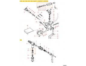FAEMA RUBINETTO CARICO ACQUA E61-DUE-E91-E98