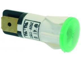 GREEN INDICATOR LAMP 250V