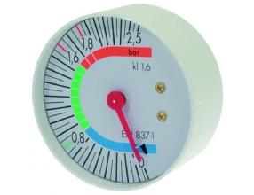 BOILER PRESSURE GAUGE o 57 mm 0? 2.5 bar