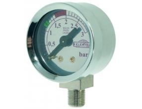 BOILER PRESSURE GAUGE o 42 mm 0? 3 bar