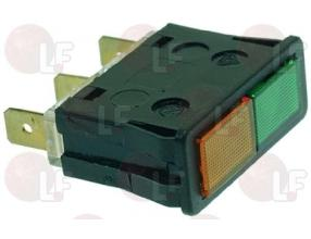 GREEN-ORANGE INDICATOR LIGHT 220V