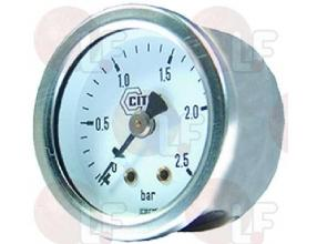 BOILER PRESSURE GAUGE o 40 mm 0? 4 bar