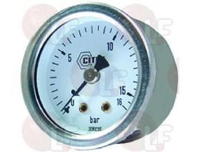 PUMP PRESSURE GAUGE o 40 mm 0? 16 bar