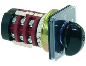 SELECTOR SWITCH 0-2 POSITIONS 20A 690V