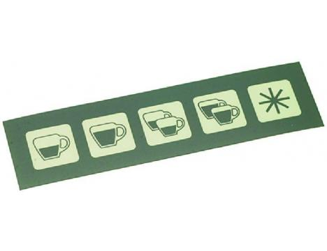 5 BUTTONS MEMBRANA