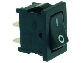 BLACK SINGLE-POLE SWITCH 10A 250V