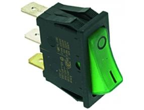 GREEN MONOPOLAR SWITCH 16A 250V