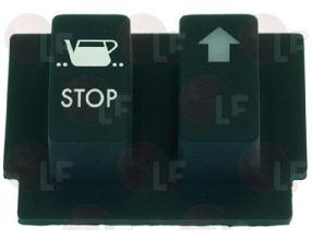 2 SWITCH BUTTON PANEL