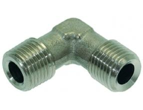 "L-FITTING o 1/8""M-1/8""M NICKEL-PLATED"