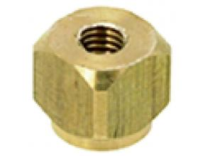 SQUARE PASS-THR. PIN 6.5 mm 6x6 mm M3