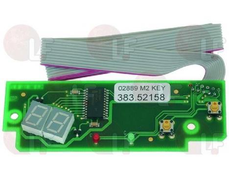 ELECTRON.CIRCUIT BOARD DISPLAY/KEYBOARD