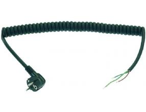 SPIRAL CABLE WITH PLUG 750 mm