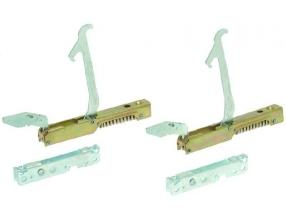 RIGHT/LEFT HINGE KIT WITH ROLLER HOLDER