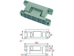 RIGHTHAND ADJUSTABLE DOOR HINGE