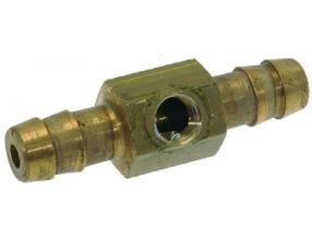 HOSE-END FITTING FOR PRESSURE GAUGE